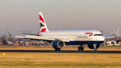 G-NEOT - British Airways Airbus A321 NEO
