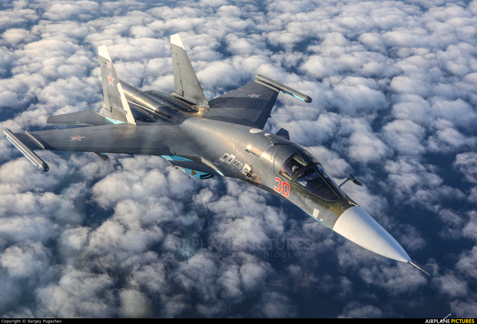 Russia - Air Force 30 aircraft at Undisclosed Location