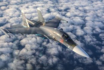 30 - Russia - Air Force Sukhoi Su-34