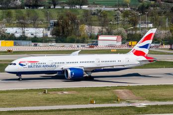 G-ZBJI - British Airways Boeing 787-8 Dreamliner