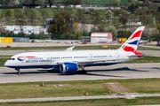 British Airways B787 visited Zurich title=