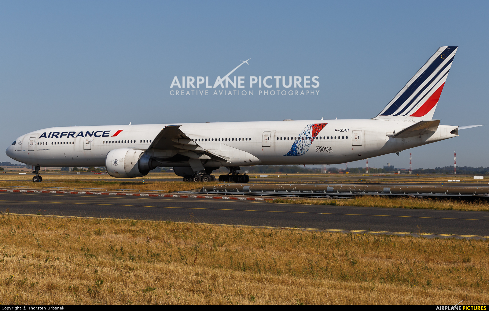 Air France F-GSQI aircraft at Paris - Charles de Gaulle