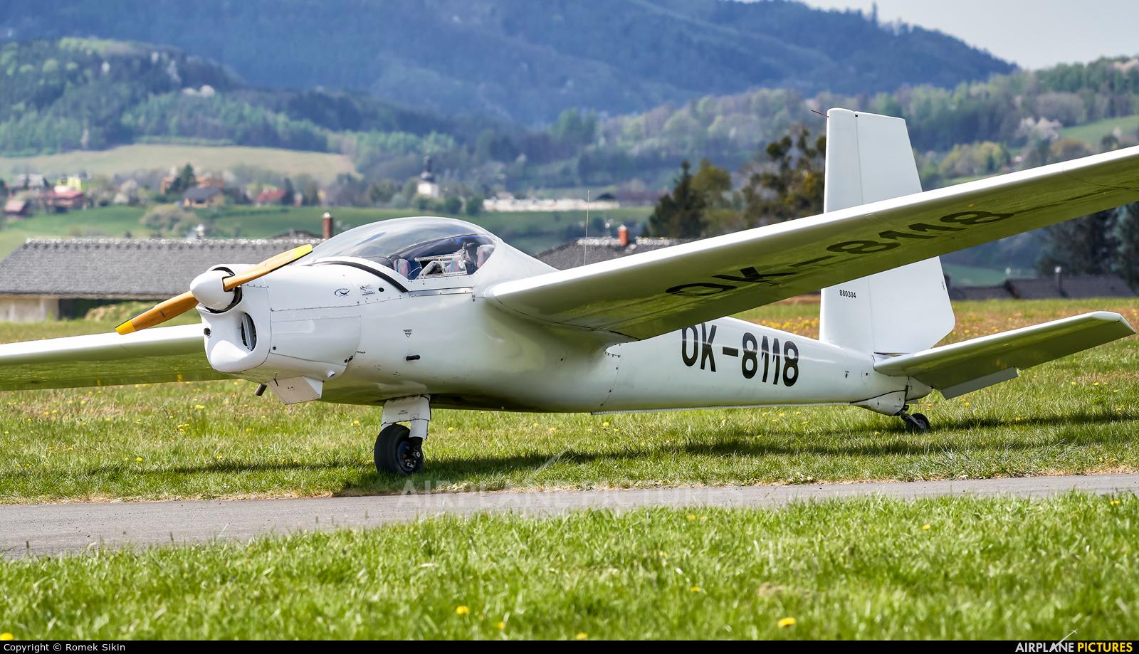 Aeroklub Frýdlant OK-8118 aircraft at Frýdlant nad Ostravicí