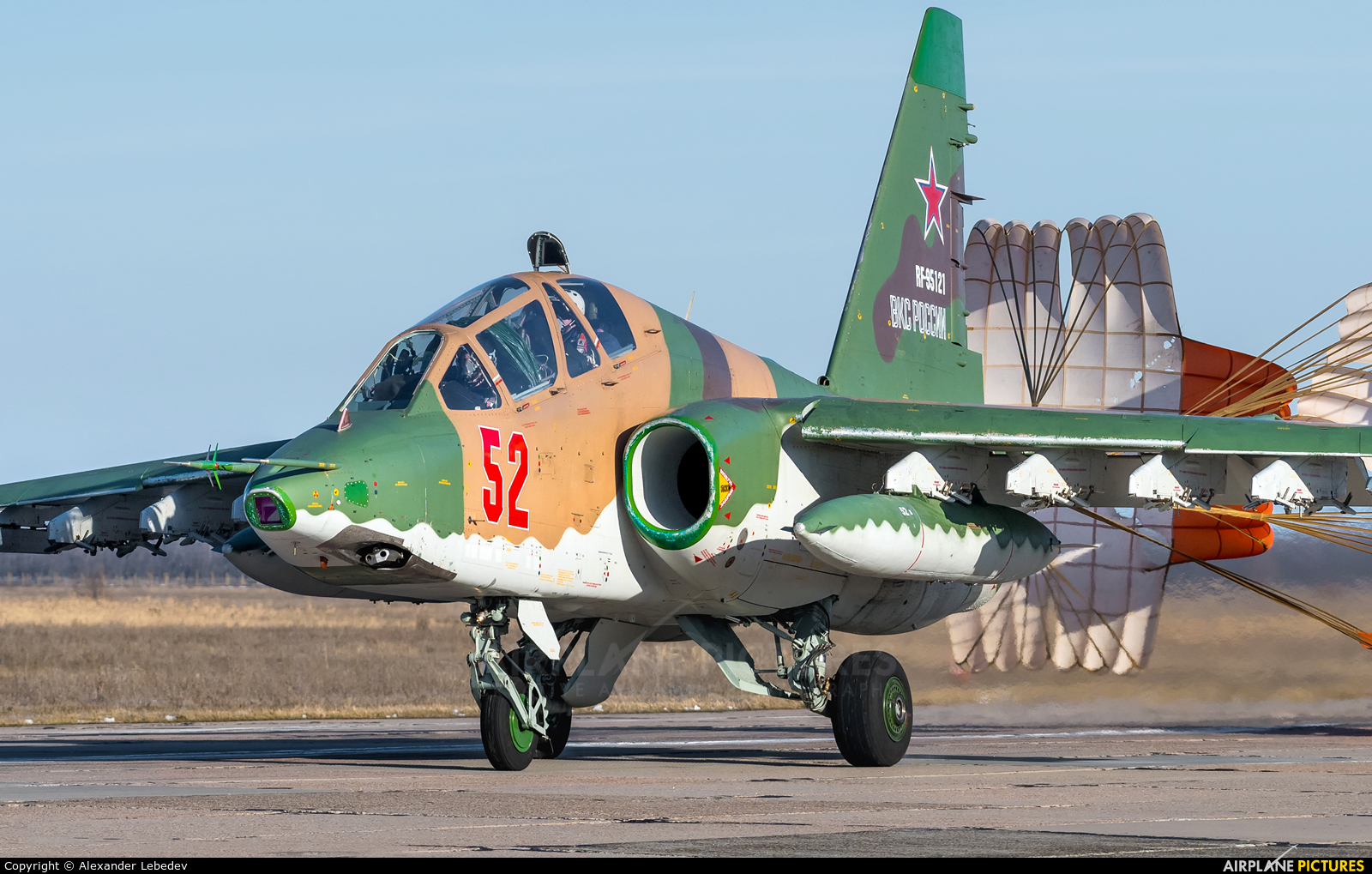 Russia - Air Force 52 aircraft at Undisclosed Location