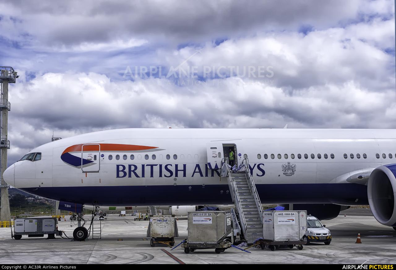 British Airways G-STBH aircraft at São Paulo - Guarulhos