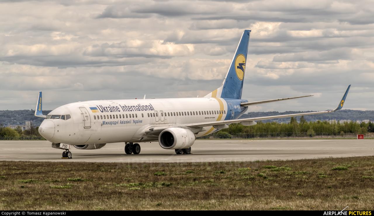 Ukraine International Airlines UR-PSD aircraft at Rzeszów-Jasionka