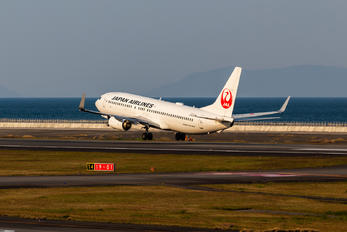 JA343J - JAL - Japan Airlines Boeing 737-800