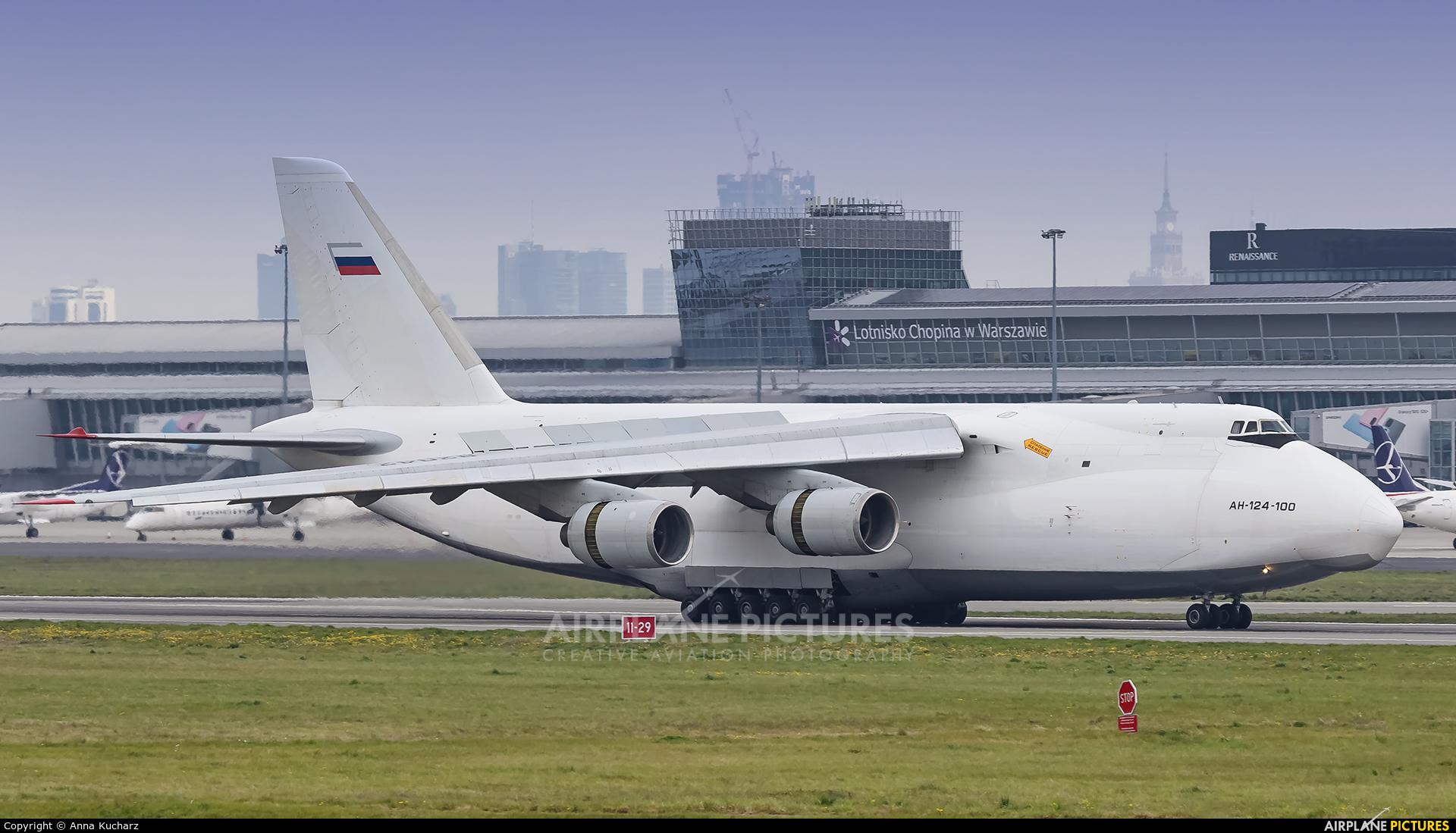 Volga Dnepr Airlines RA-82042 aircraft at Warsaw - Frederic Chopin