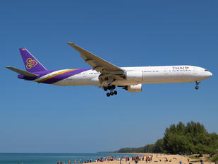 HS-TKB - Thai Airways Boeing 777-300
