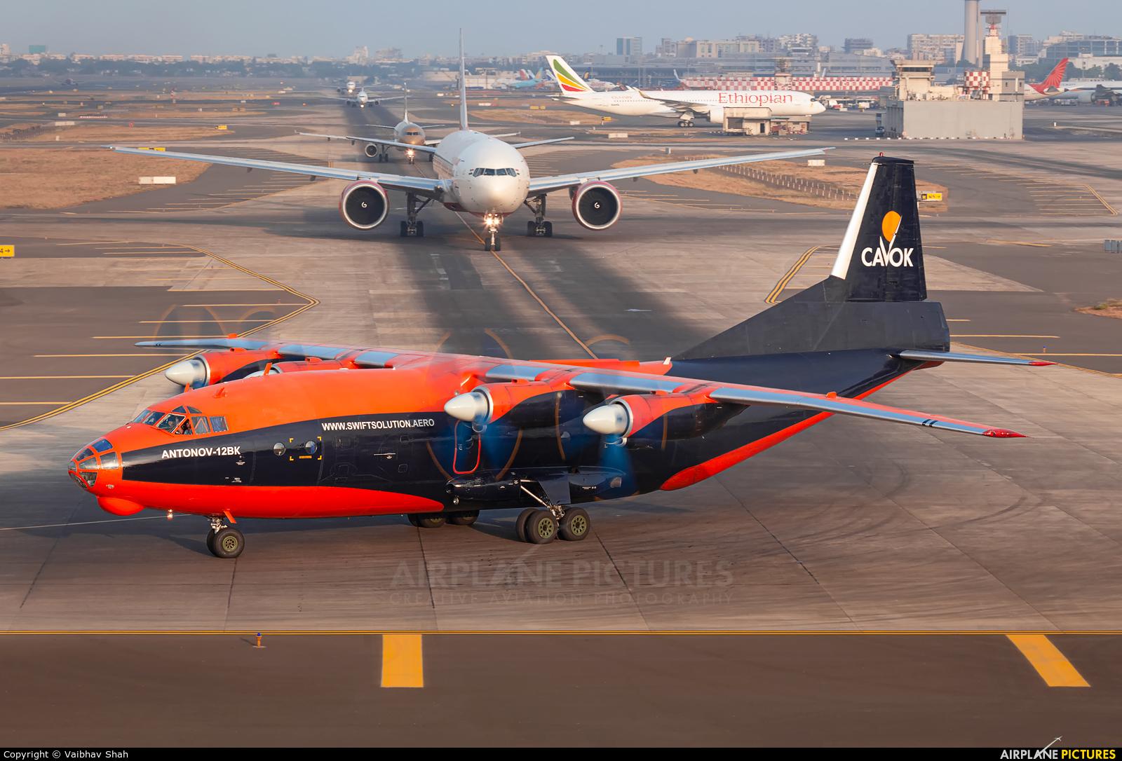 Cavok Air UR-CKL aircraft at Mumbai - Chhatrapati Shivaji Intl