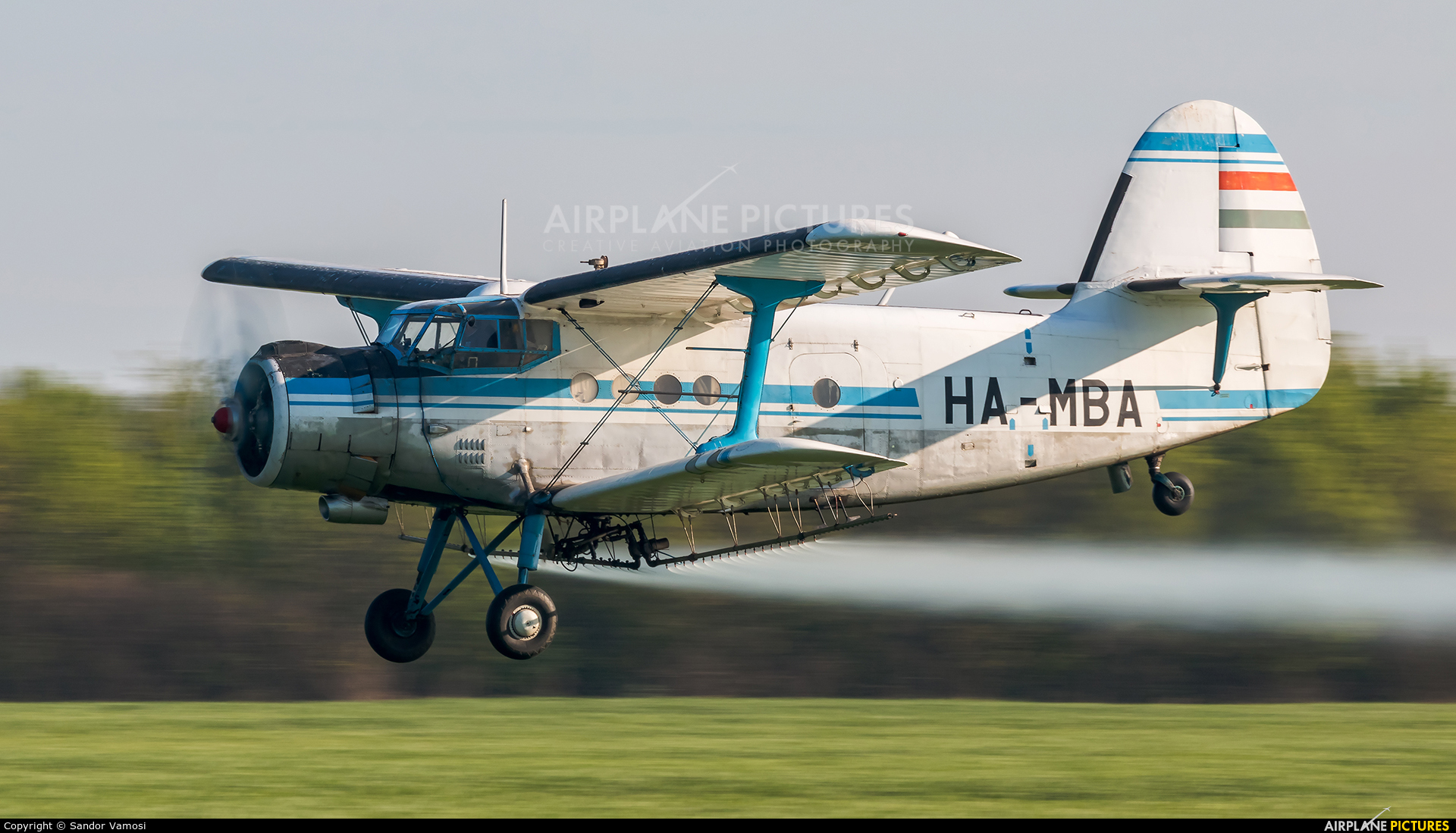 Private HA-MBA aircraft at Off Airport - Hungary