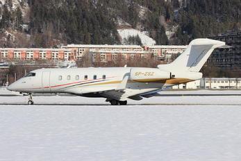 SP-ZSZ - Blue Jet Bombardier BD-100 Challenger 300 series