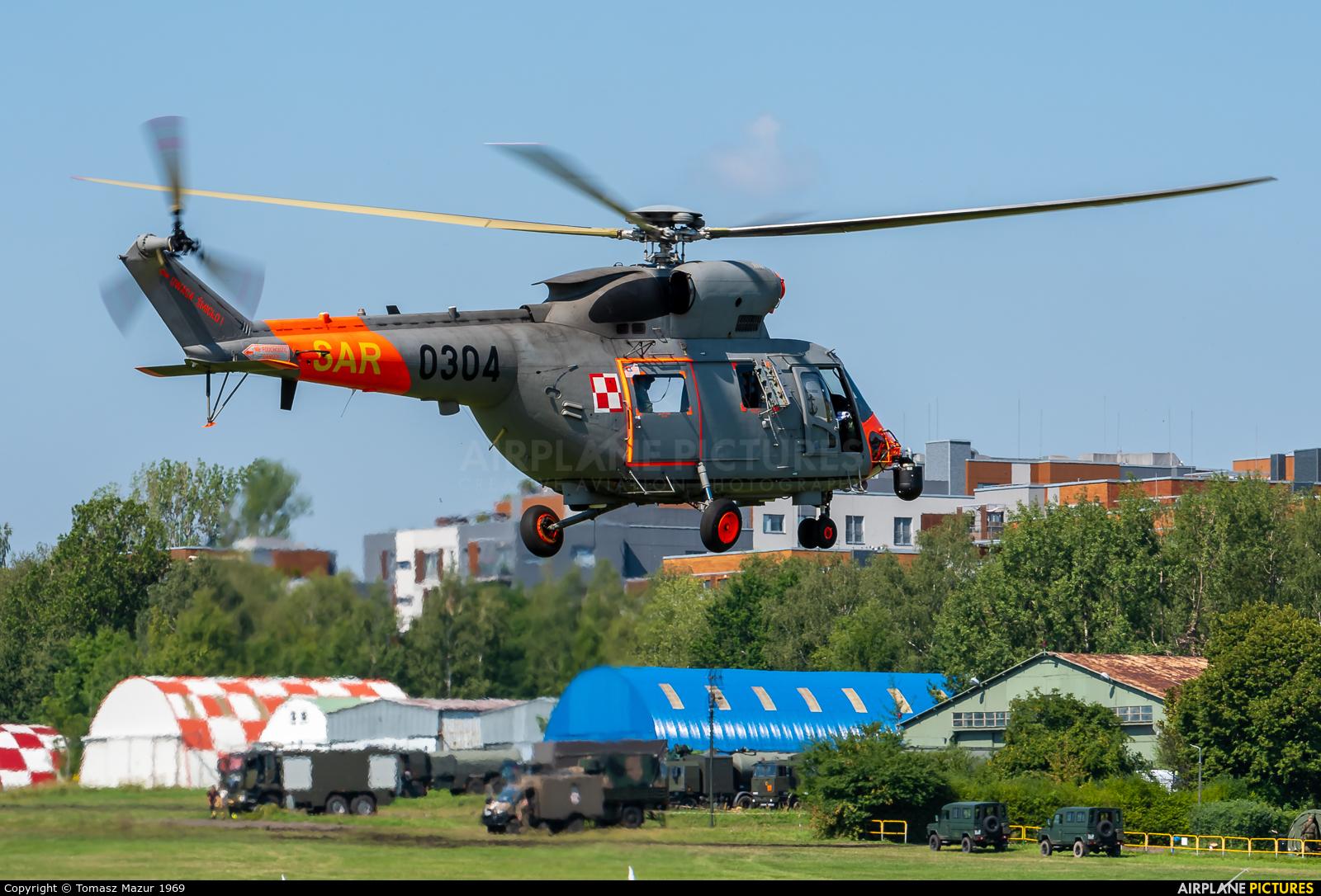 Poland - Navy 0304 aircraft at Katowice Muchowiec