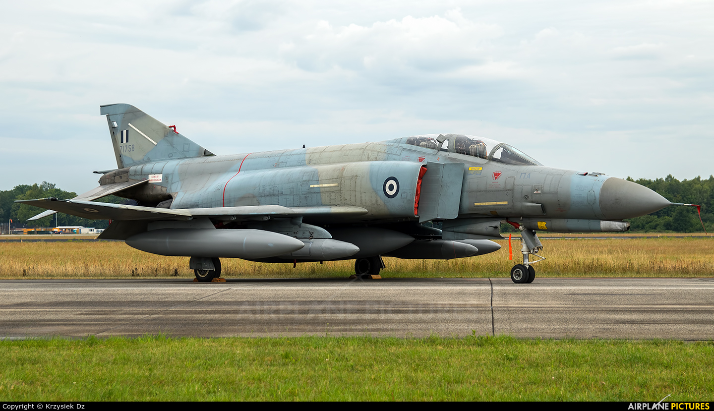 Greece - Hellenic Air Force 71758 aircraft at Uden - Volkel