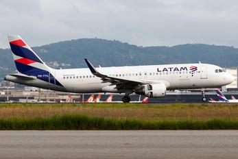 PR-TYL - LATAM Brasil Airbus A320