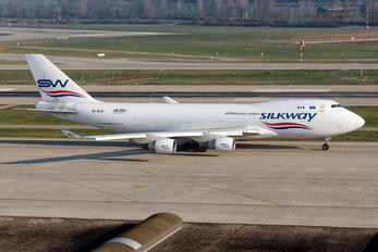 VP-BCV - Silk Way Airlines Boeing 747-400F, ERF