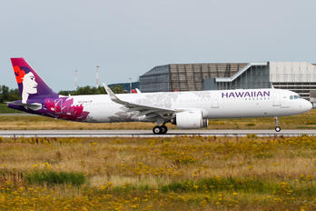 N213HA - Hawaiian Airlines Airbus A321 NEO