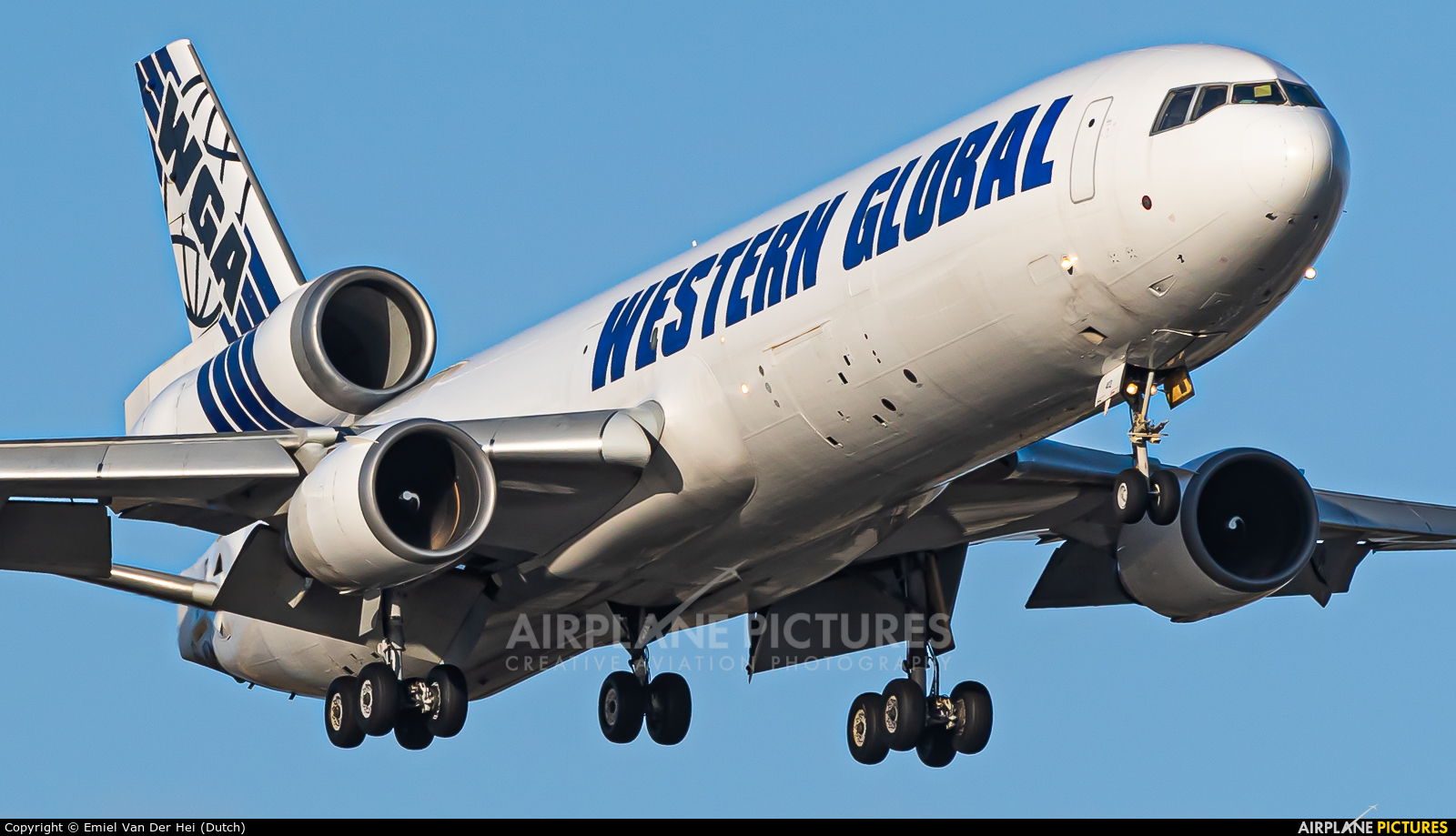 Western Global Airlines N412SN aircraft at Amsterdam - Schiphol