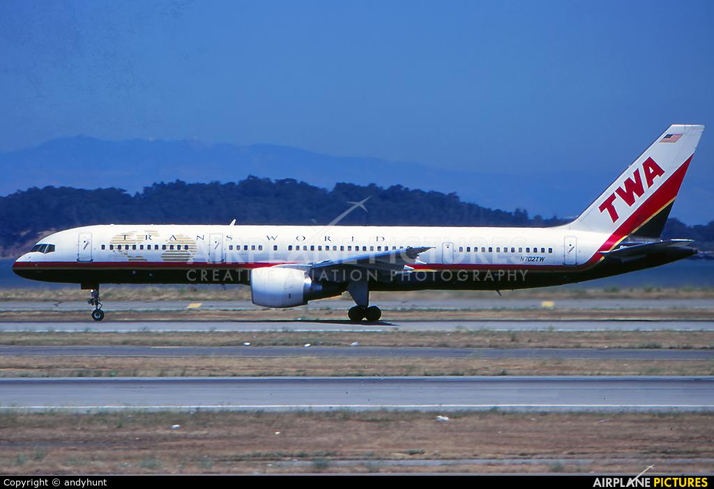 TWA N702TW aircraft at Los Angeles Intl