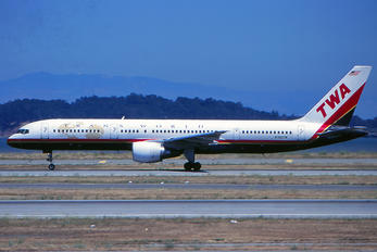 N702TW - TWA Boeing 757-200