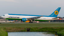 Rare visit of Uzbekistan Cargo B763 to Amsterdam title=