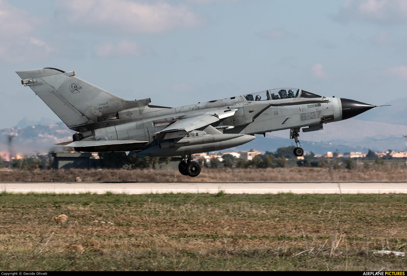 Italy - Air Force MM7038 aircraft at Trapani - Birgi