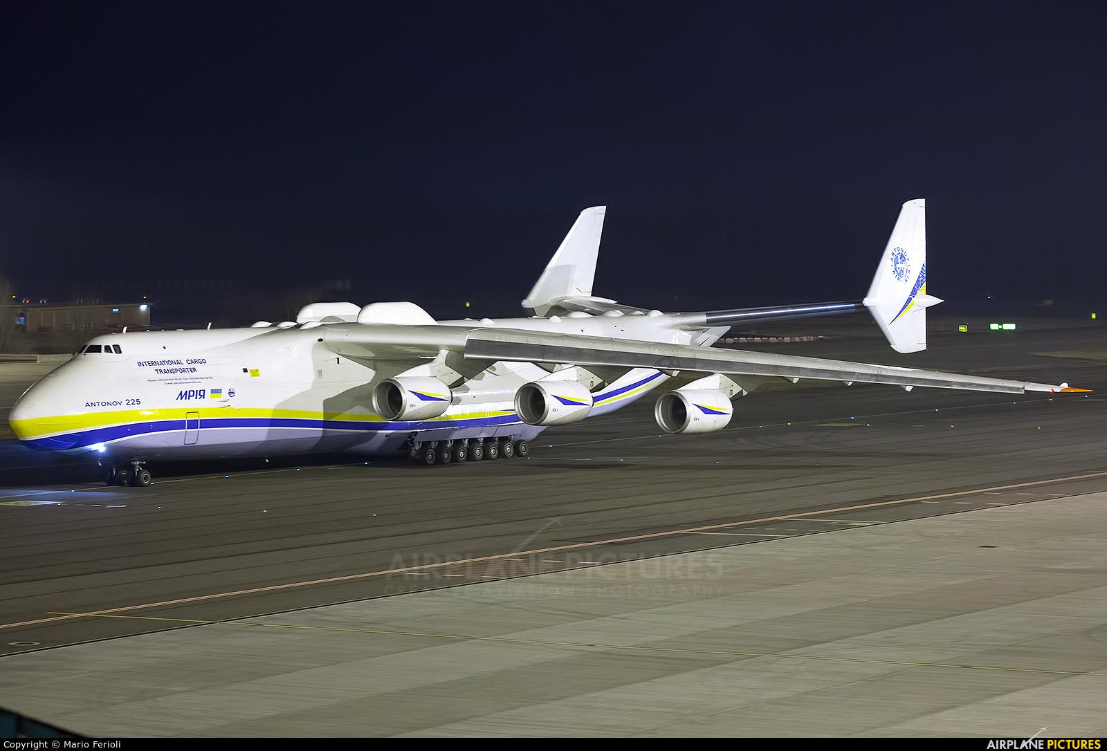 Antonov Airlines /  Design Bureau UR-82060 aircraft at Milan - Malpensa