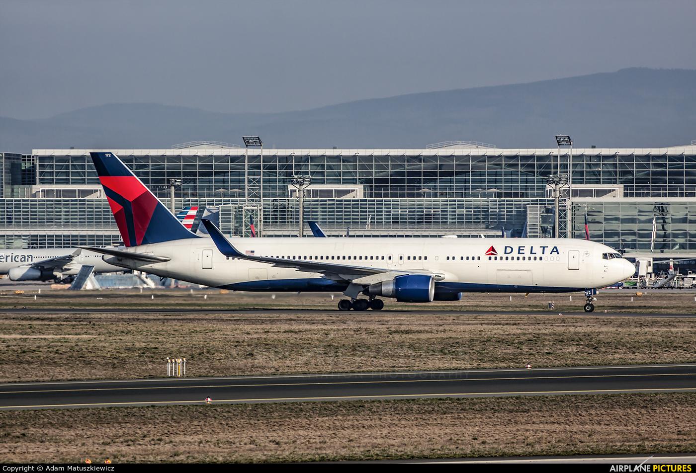Delta Air Lines N172DN aircraft at Frankfurt