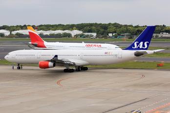 OY-KBD - SAS - Scandinavian Airlines Airbus A340-300