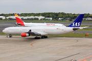 OY-KBD - SAS - Scandinavian Airlines Airbus A340-300 aircraft