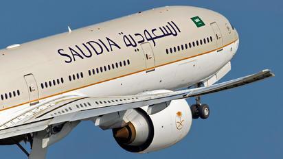HZ-AK35 - Saudi Arabian Airlines Boeing 777-300ER