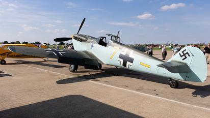 : G-AWHM - Private Hispano Aviación HA-1112-M1L Buchon