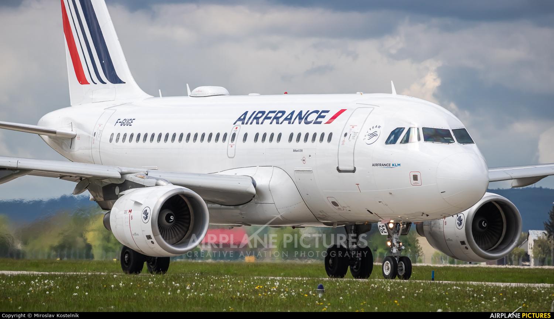 Air France F-GUGE aircraft at Ostrava Mošnov