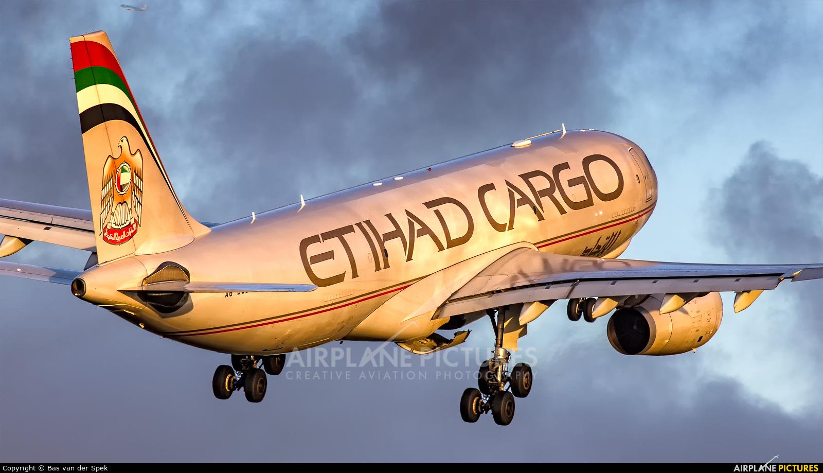 Etihad Cargo A6-DCB aircraft at Amsterdam - Schiphol