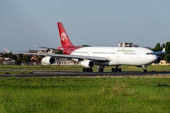 TF-EAB - Air Madagascar Airbus A340-300