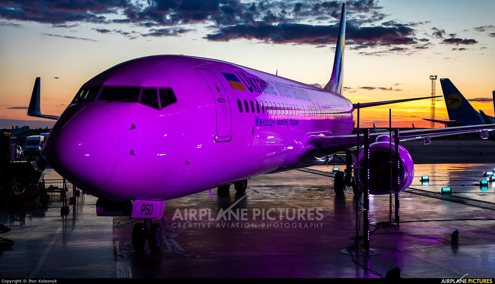 Ukraine International Airlines UR-PSQ aircraft at Kyiv - Borispol