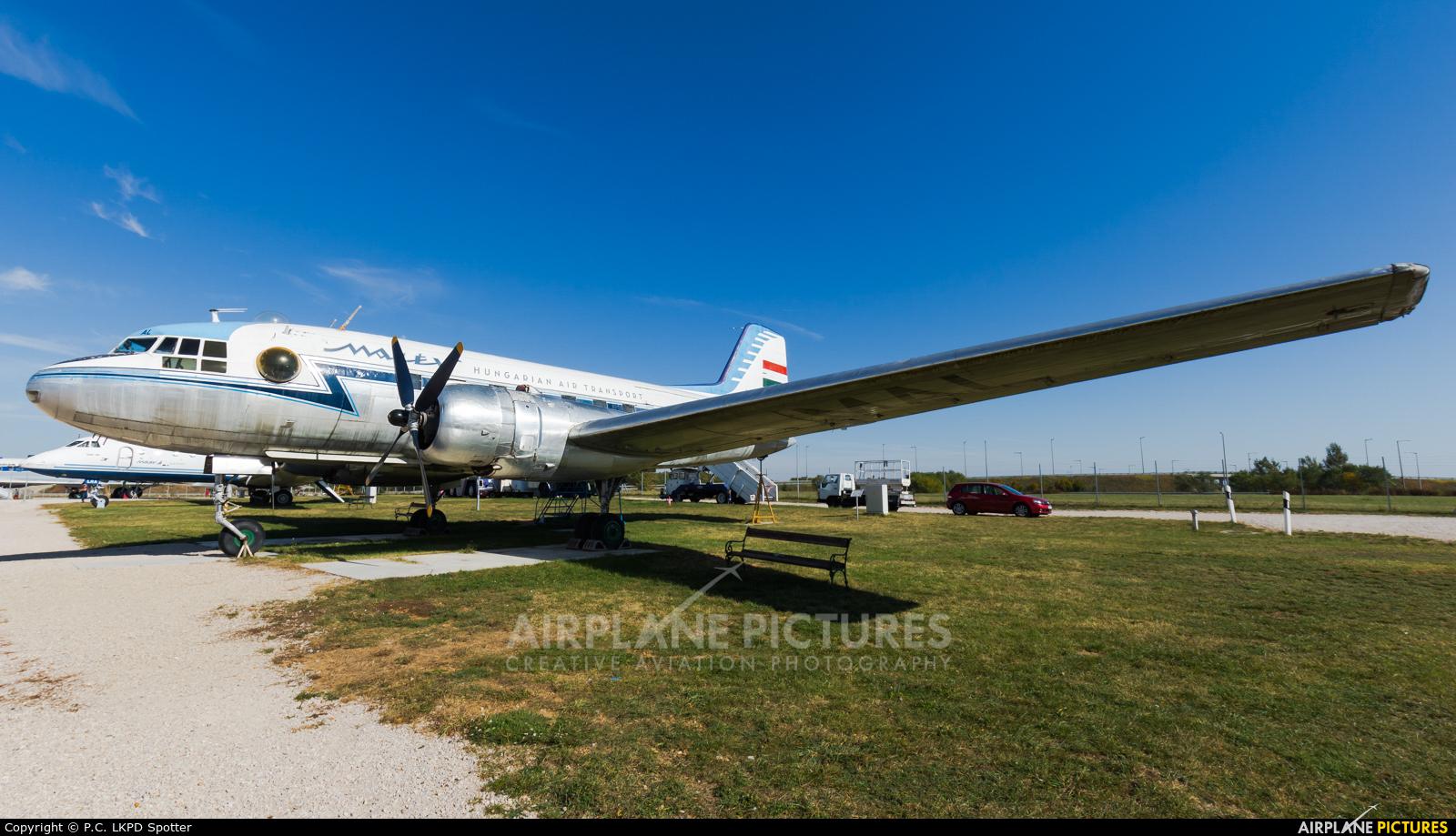 Malev HA-MAL aircraft at Budapest Ferenc Liszt International Airport