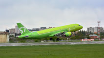 VQ-BRD - S7 Airlines Airbus A320 aircraft