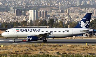 EP-TTA - Iran Airtour Airbus A320