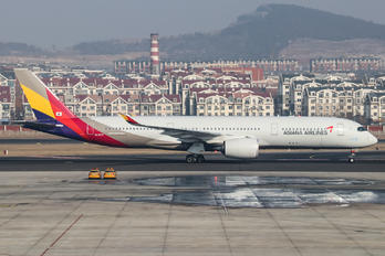 HL7579 - Asiana Airlines Airbus A350-900