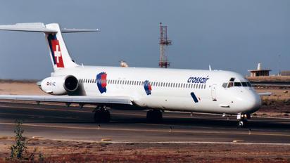 HB-INZ - Crossair McDonnell Douglas MD-81