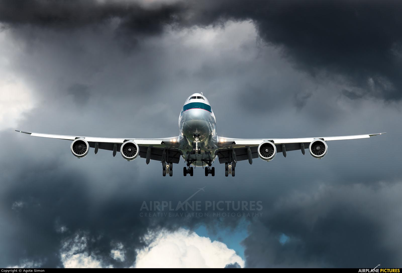 Cathay Pacific Cargo B-LJJ aircraft at London - Heathrow