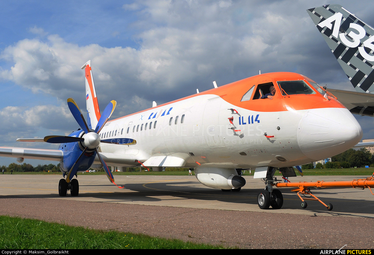 RADAR 91003 aircraft at Zhukovsky International Airport