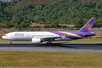HS-TJT - Thai Airways Boeing 777-200ER