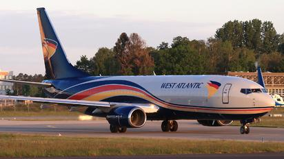 G-NPTC - West Atlantic Boeing 737-800(BCF)