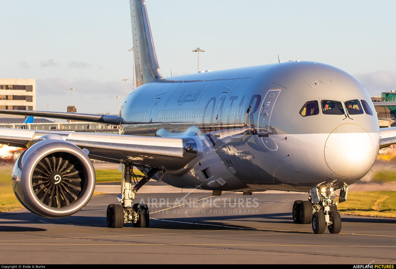 Qatar Airways A7-BDA aircraft at Manchester