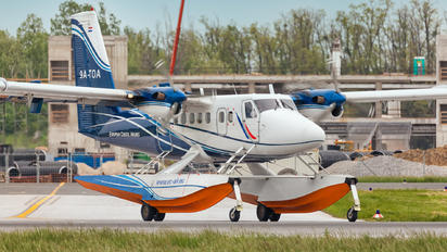 9A-TOA - European Coastal Airlines de Havilland Canada DHC-6 Twin Otter
