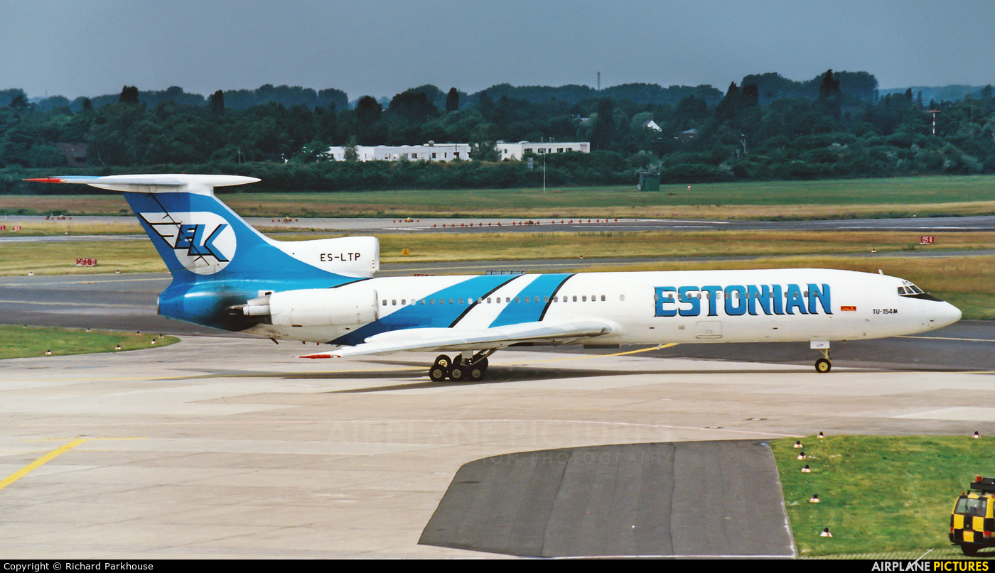 ELK-Estonian Airways   ES-LTP aircraft at Düsseldorf