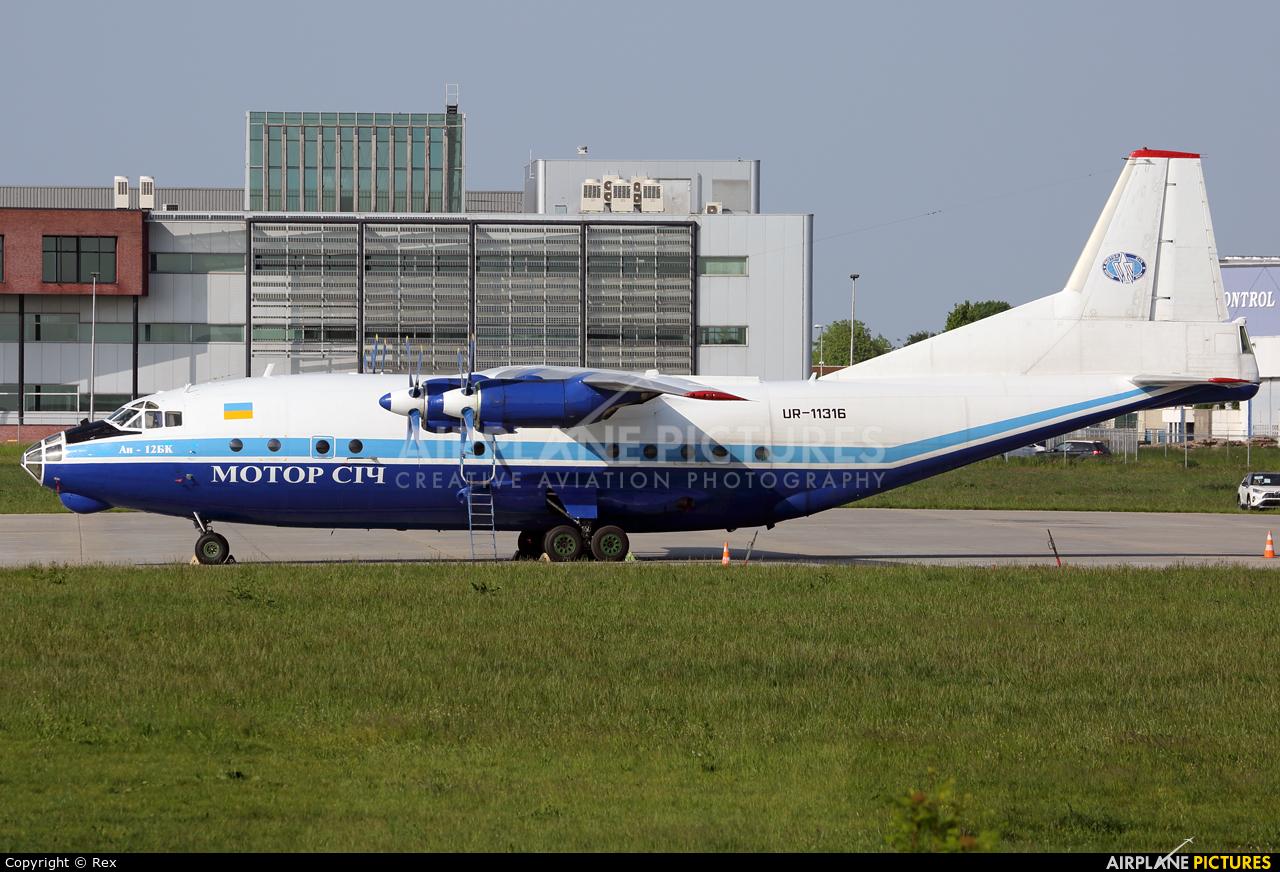 Motor Sich UR-11316 aircraft at Maastricht - Aachen