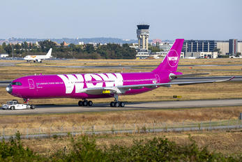 B-LAA - WOW Air Airbus A330-300